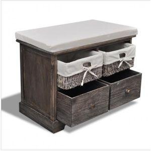 banc avec panier achat vente banc avec panier pas cher. Black Bedroom Furniture Sets. Home Design Ideas