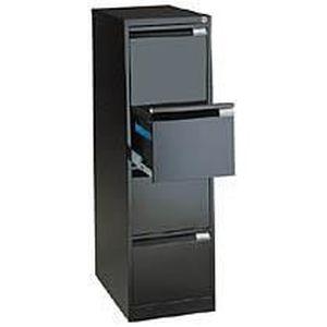 meuble classeur noir achat vente meuble classeur noir pas cher les soldes sur cdiscount. Black Bedroom Furniture Sets. Home Design Ideas