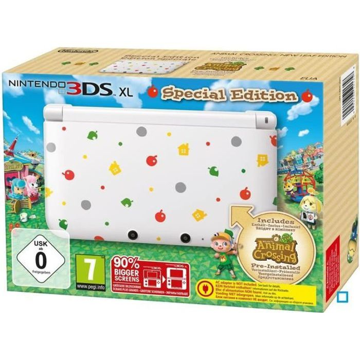 Console 3ds xl collector animal crossing new leaf achat - Animal crossing new leaf consoles ...