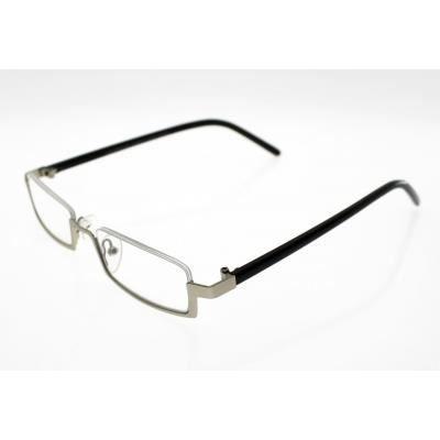 lunettes pre montees loupe avec etui souple mod silver noir argent achat vente lunettes. Black Bedroom Furniture Sets. Home Design Ideas