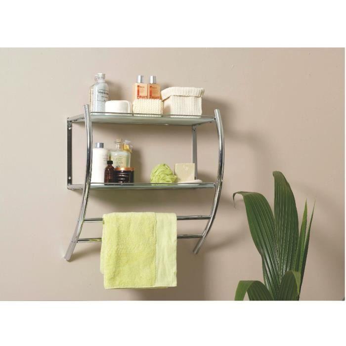 porte serviette mural spirit allibert achat vente. Black Bedroom Furniture Sets. Home Design Ideas