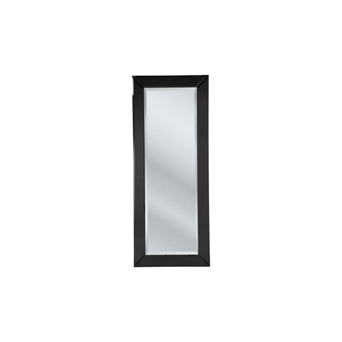 Miroir cut 200x80 cm kare design achat vente miroir for Miroir biseaute sans cadre