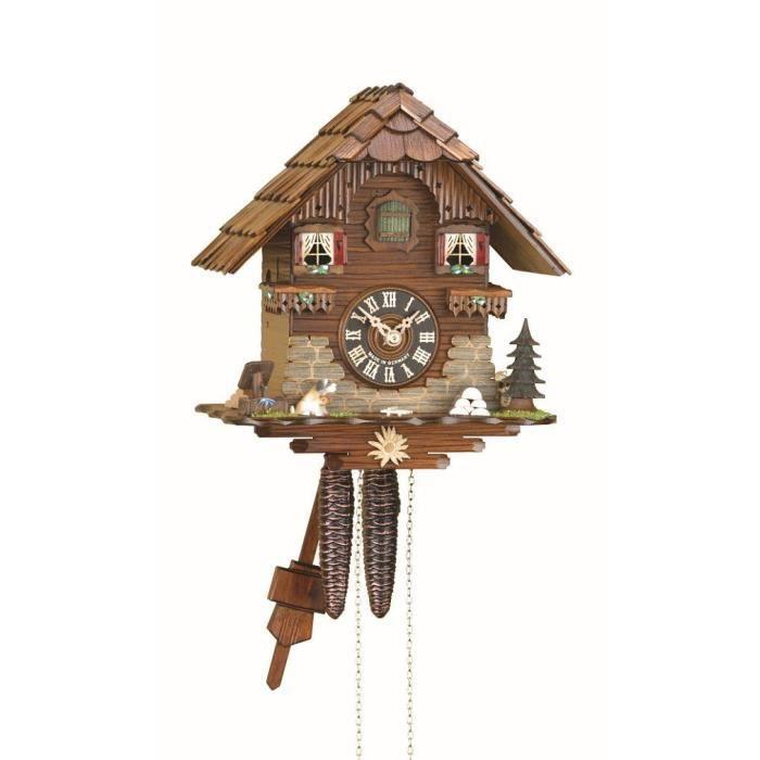 pendule coucou maison de la for t noire achat vente horloge pendule coucou maison de. Black Bedroom Furniture Sets. Home Design Ideas
