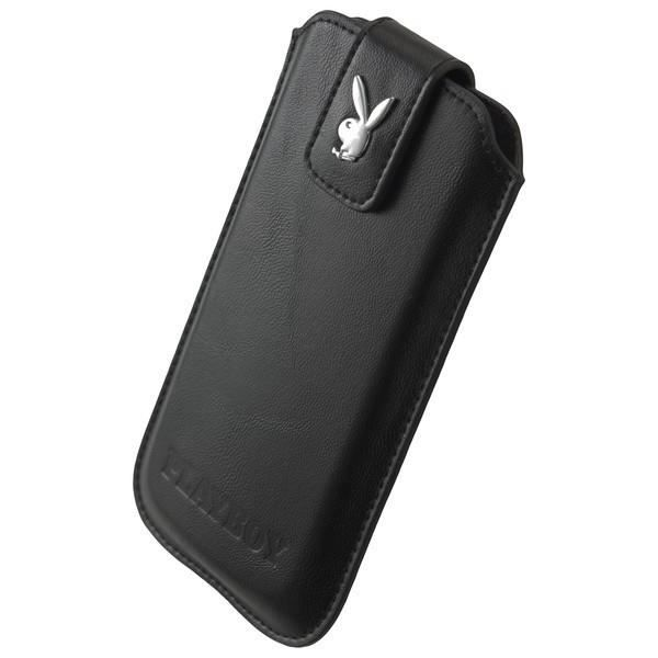 Playboy housse xxl cuir noir iphone 6 4 7 achat housse for Housse iphone 7 cuir