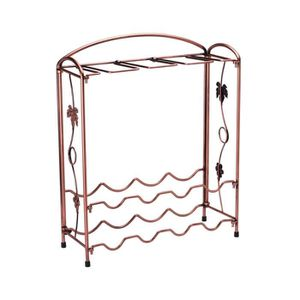 support bouteille metal achat vente support bouteille metal pas cher cdiscount. Black Bedroom Furniture Sets. Home Design Ideas