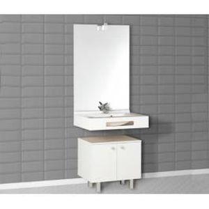 meuble salle de bains pmr achat vente meuble salle de bains pmr pas cher cdiscount. Black Bedroom Furniture Sets. Home Design Ideas