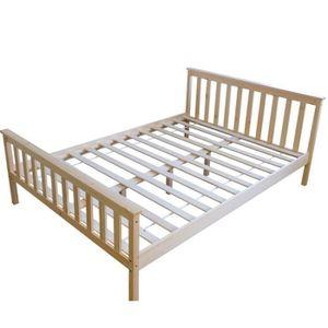 lit adulte avec sommier et matelas achat vente lit adulte avec sommier et matelas pas cher. Black Bedroom Furniture Sets. Home Design Ideas