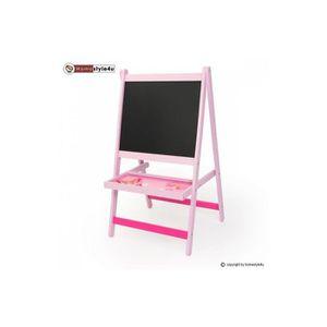 Chevalet pour enfant achat vente jeux et jouets pas chers for Tableau noir et rose