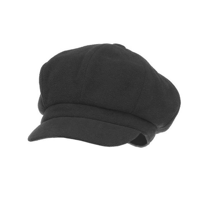 casquette gavroche noire pour femme et homme achat. Black Bedroom Furniture Sets. Home Design Ideas