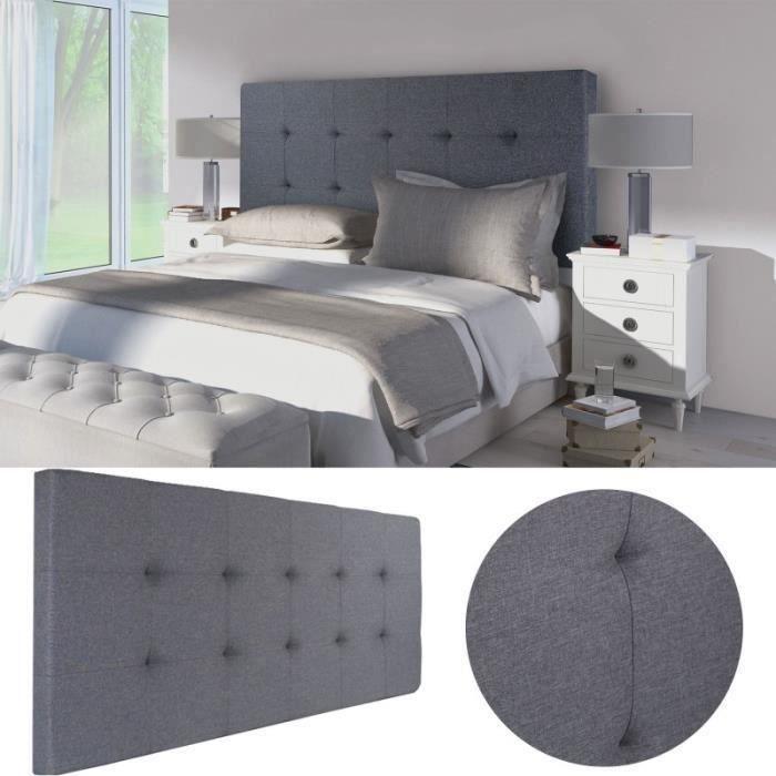 Tete de lit capitonnee tissu achat vente tete de lit capitonnee tissu pas - Tete de lit capitonnee pas cher ...