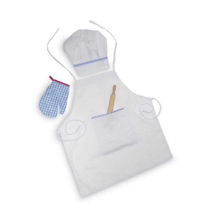 Tablier de cuisine avec accessoires trausse achat for Achat accessoire cuisine