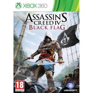 JEUX XBOX 360 ASSASSIN'S CREED IV : BLACK FLAG / Jeu XBOX 360