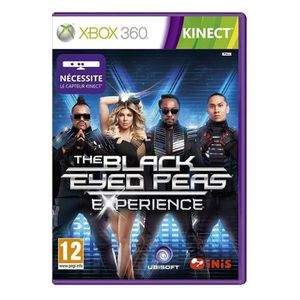 JEUX XBOX 360 BLACK EYED PEAS EXPERIENCE KINECT / X360