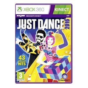 JEUX XBOX 360 Just Dance 2016 Jeu Xbox 360