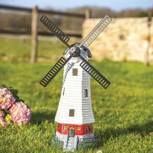 Moulin Deco Jardin : moulin vent en r sine achat vente statue statuette moulin vent en r sine cdiscount ~ Teatrodelosmanantiales.com Idées de Décoration