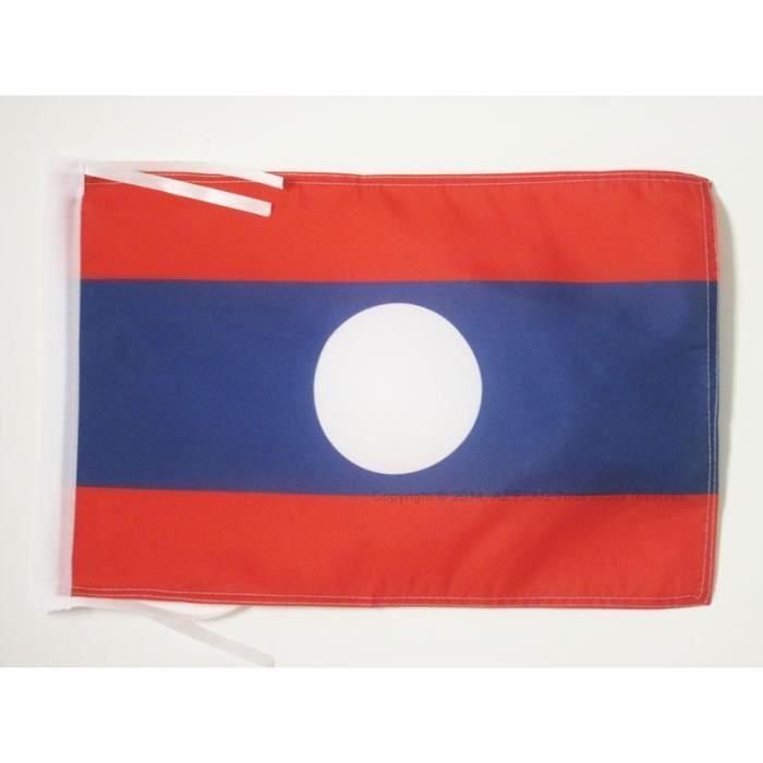 Drapeau laos 45x30cm laosien haute qualit achat for Linge de maison haute qualite