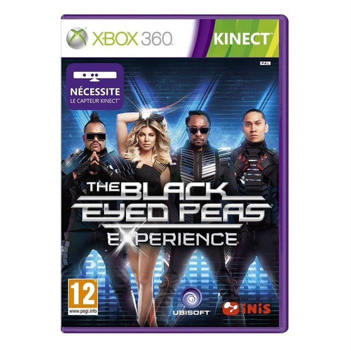 black eyed peas experience kinect x360 achat vente. Black Bedroom Furniture Sets. Home Design Ideas