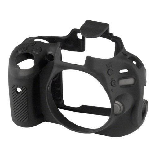 delamax easycover housse de protection pour appareil photo reflex nikon d5100 noir achat. Black Bedroom Furniture Sets. Home Design Ideas