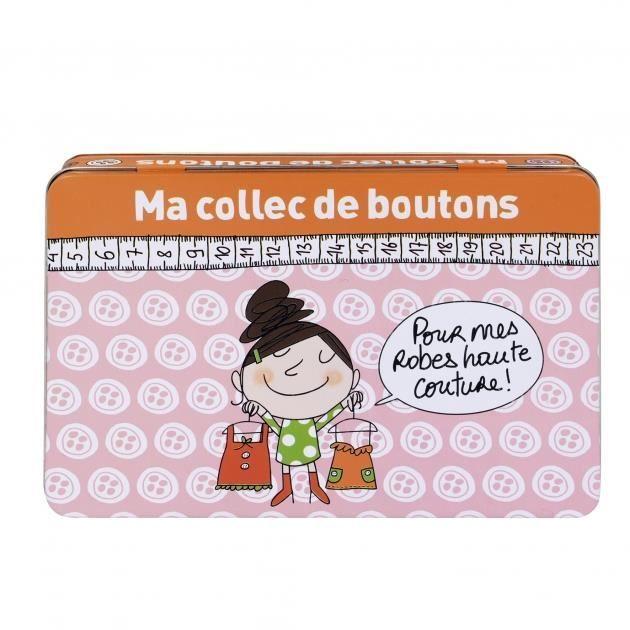 Bo te boutons ma collec orange derri re l achat for Boite a bouton couture