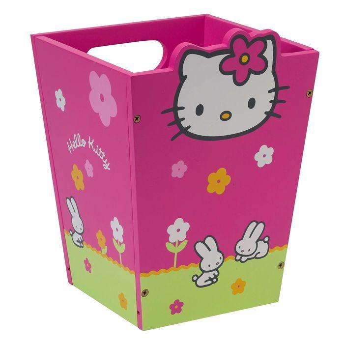corbeille papier hello kitty achat vente poubelle corbeille corbeille papier hello. Black Bedroom Furniture Sets. Home Design Ideas