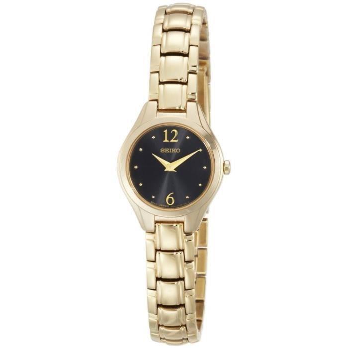 Часы Seiko Женские кварцевые часы в стали