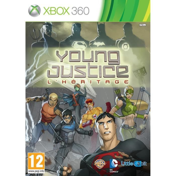 JEUX XBOX 360 YOUNG JUSTICE LEGACY / Jeu console XBOX 360