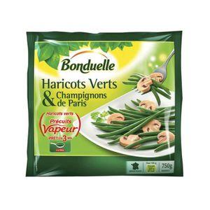 BONDUELLE Haricots verts & champignons de Paris -