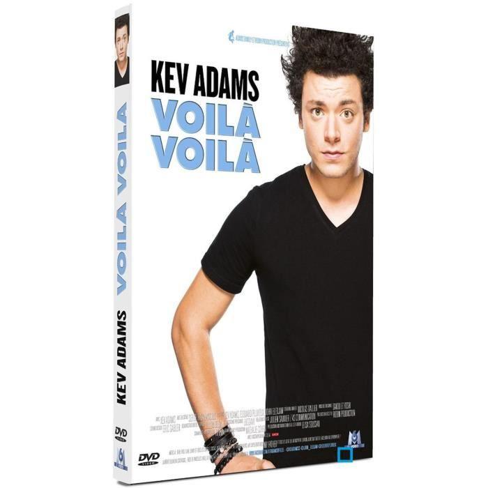 dvd comedie theatre kev adams voila f