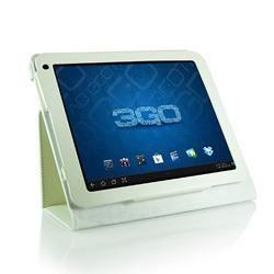 etui universel cuir blanc pour tablette 9 7 pouces prix. Black Bedroom Furniture Sets. Home Design Ideas