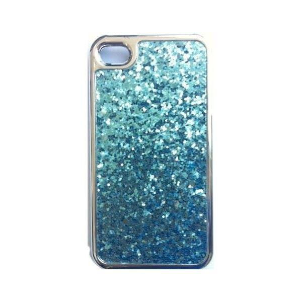 coque iphone 4 4s bleu paillet achat coque bumper pas cher avis et meilleur prix soldes. Black Bedroom Furniture Sets. Home Design Ideas