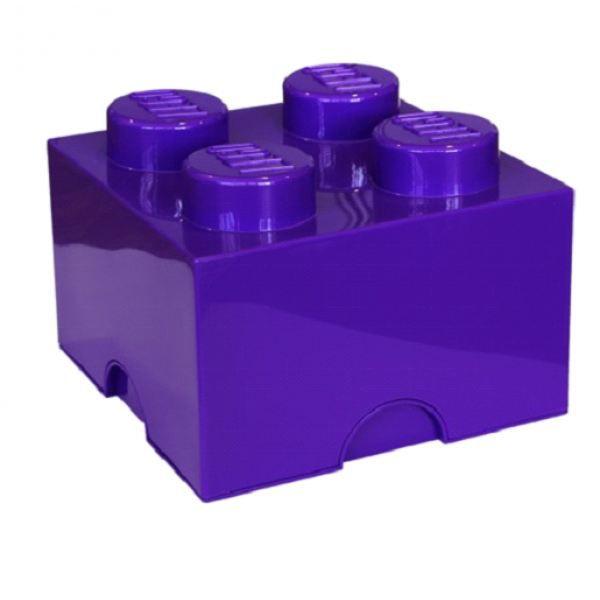 boite rangement lego 4 plots. Black Bedroom Furniture Sets. Home Design Ideas