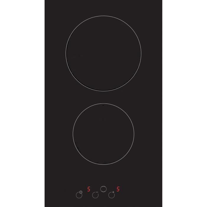 soge lux sogelux domino vitroc ramique dv523 noir table de cuisson. Black Bedroom Furniture Sets. Home Design Ideas