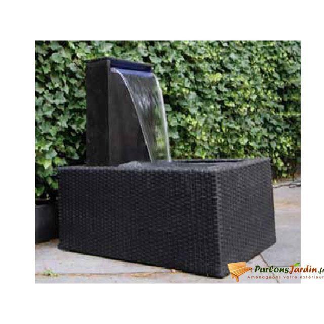 pourtour pour bacs eau wicker v achat vente jardini re pot fleur pourtour pour bacs. Black Bedroom Furniture Sets. Home Design Ideas