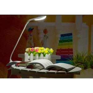 LAMPE A POSER Lampe de bureauà table à Pince Flexible sans Fil R