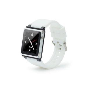 BRACELET DE MONTRE Bracelet de montre pour Apple Ipod nano 6g - Blanc