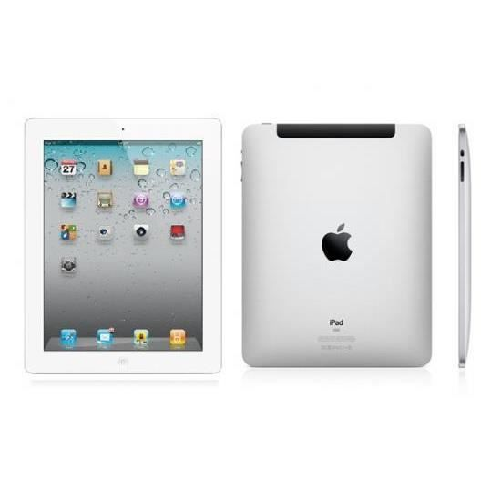 apple ipad 3 16 go 3g 4g et wifi blanc prix pas. Black Bedroom Furniture Sets. Home Design Ideas