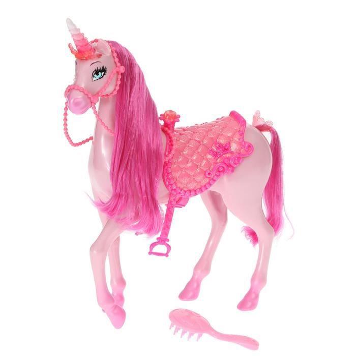 Mattel barbie licorne rose accessoires achat vente - Barbie licorne ...