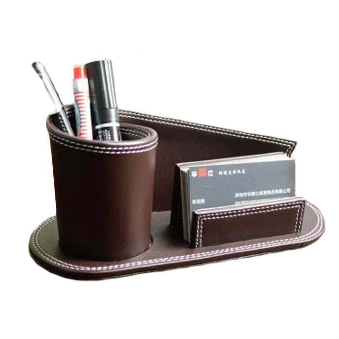Compartiment multifonctionnel bureau porte stylo papeterie for Porte de bureau