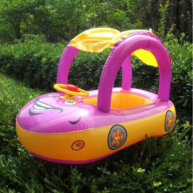 Piscine gonflable b b flotteur voiture anneau tubulaire for Piscine portable prix