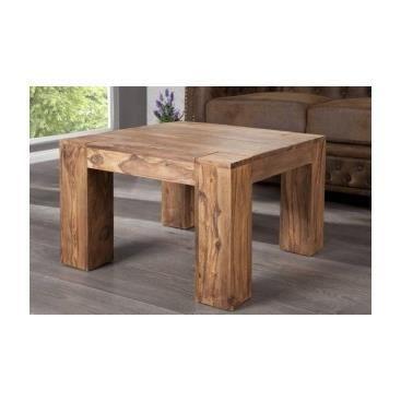 Table basse en bois lorena achat vente table basse - Salon de sejour en bois ...