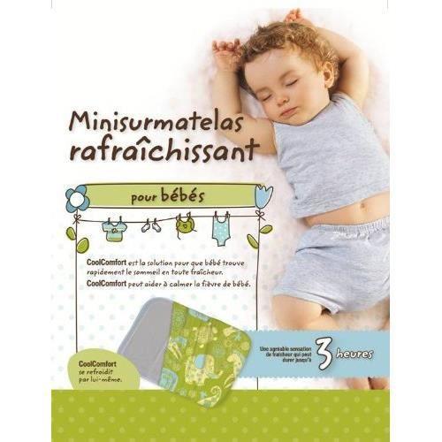 Mini sur matelas rafraichissant pour bebe achat vente protection matelas 3333000001362 - Sur matelas rafraichissant ...