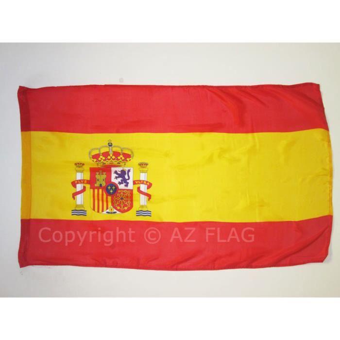 drapeau espagne 150x90cm espagnol achat vente drapeau d coratif cdiscount. Black Bedroom Furniture Sets. Home Design Ideas