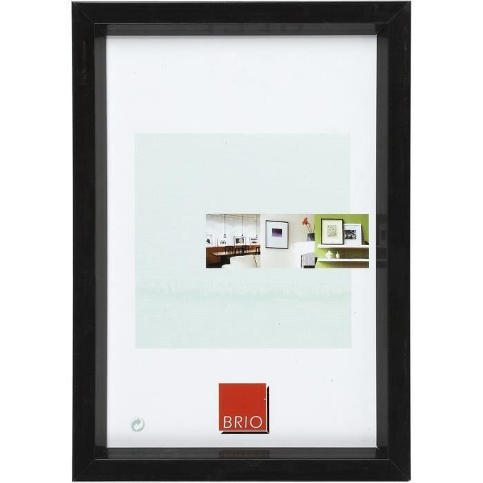brio cadre photo noir d troit 30x40 cm achat vente. Black Bedroom Furniture Sets. Home Design Ideas