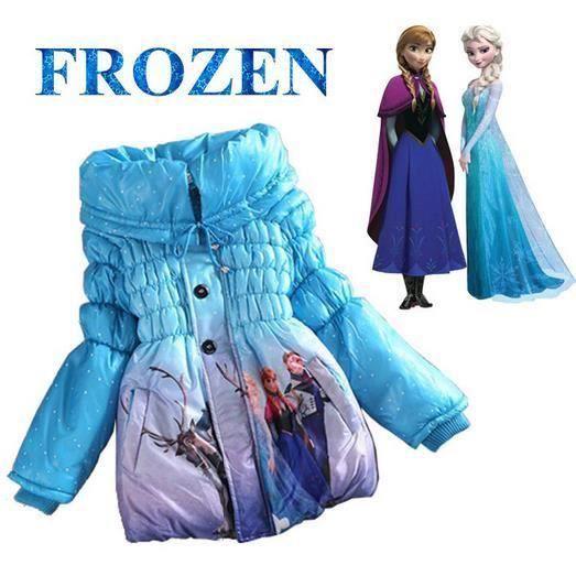 manteau doudoune reine des neiges filles 3 4 ans bleu achat vente doudoune 2009901981362. Black Bedroom Furniture Sets. Home Design Ideas