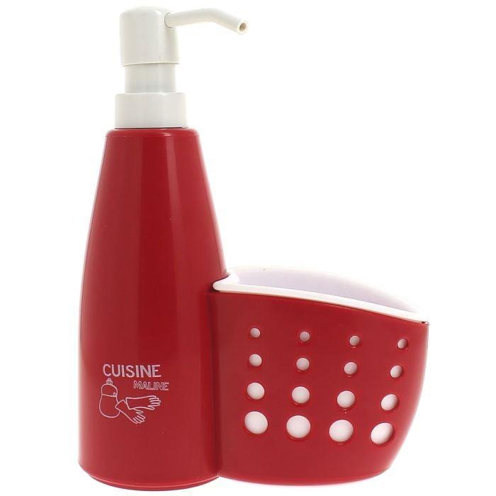 Set distributeur savon liquide vaisselle porte po achat vente distributeur de savon pvc - Porte savon liquide mural ...
