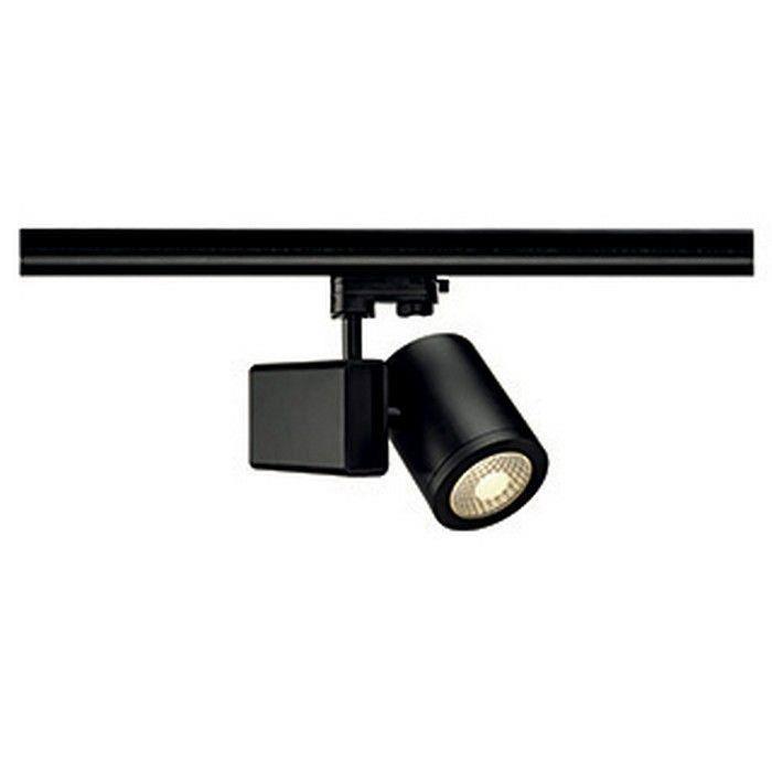 spot sur rail rond 18w 55 enola c 18 noir achat vente spot sur rail rond 18w 55. Black Bedroom Furniture Sets. Home Design Ideas