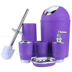 set accessoires 6pcs set accessoires salle de bain cratifs six co - Vitrine Magique Accessoire Salle Deau