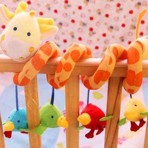 SPIRALE - TORTILLON Vococal® Jouets bébés en Peluche Coloré Jouets de