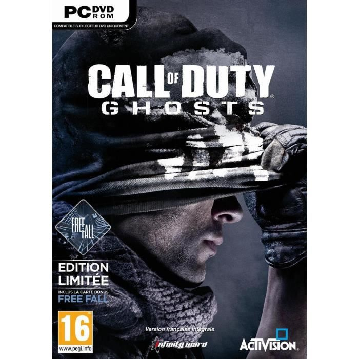 JEUX PC Call of Duty Ghosts Edition Limitée FreeFall PC
