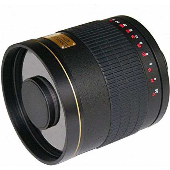 miroir objectif rokinon 500mm f 6 3 pour nikon achat